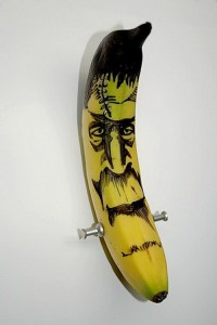 The Real Atheist's Nightmare Banana;  Phto compliments tattooedbanana.blogspot.com