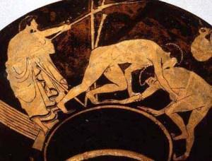 """""""Boxer Vase"""" from Hagia Triada in Crete"""